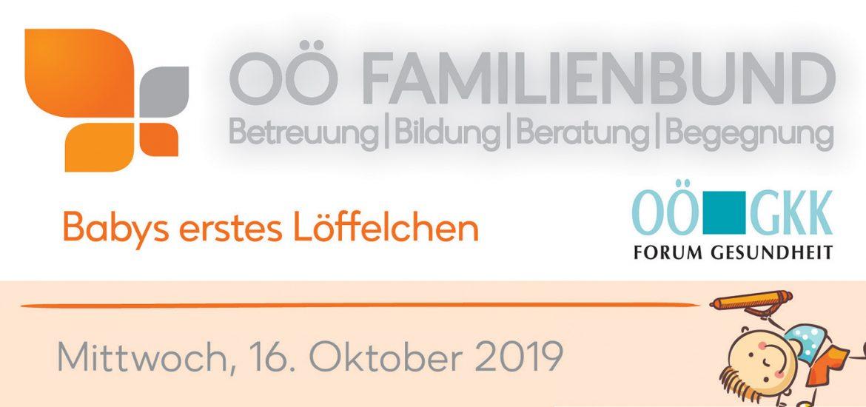 Gesunde Gemeinde Mondsee - Veranstaltung Babys erstes Löffelchen 2019